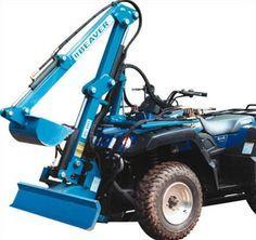 and Attachments for Your ATV and UTV Beaver Pro Excavator, atv accessoriesBeaver Pro Excavator, atv accessories Atv Implements, Utv Accessories, Small Tractors, Compact Tractors, Quad Bike, Atv Quad, Tractor Attachments, 4 Wheelers, 4x4 Trucks