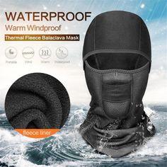 Waterproof Windproof Thermal Face Mask Balaclava Tactical Winter Fleece Snow   RIGWARL Balaclava 07f016a6be