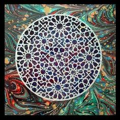 Arabesque, Paper Cutting, Turkish Art, Moroccan Design, Geometric Art, Islamic Art, Sacred Geometry, Pattern Wallpaper, Paper Art
