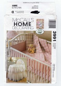 Mccall Patterns For Baby Bedding