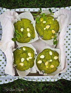 Matcha White Chocolate & Lime Muffins