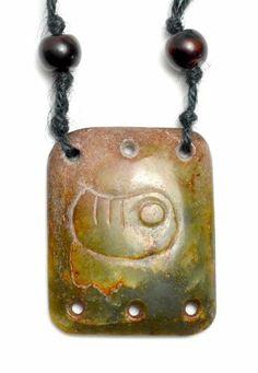 Auspicious Zikade Shou Shan Stein Jade Halskette, Anhänger 55x45x8mm, Halskette 70 cm - Feng Shui Fortune-Jade-Schmuck Feng Shui & Fortune Jewelry, http://www.amazon.de/dp/B00IO3DP8O/ref=cm_sw_r_pi_dp_KIZftb110V52M