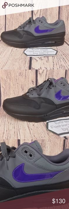 e3b90e5dae3c9 Nike Air Max 1 Mens Running Shoes Size 10.5 Brand New With Original Box