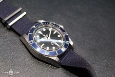 The Tudor Heritage Black Bay watch - blue