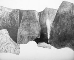 Gill Crozier - Quarry Drawing III graphite
