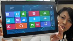 The first of what's expected to be a series of smaller screen Windows 8 tablets was apparently shown on Amazon.com briefly by mistake last week. The online ad for the unannounce...