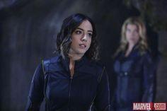 Agents 'Daisy Johnson' and 'Bobbi Morse' on 'Marvel's: Agents Of S.H.I.E.L.D.'