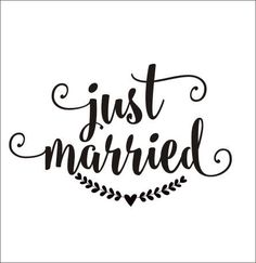 Items similar to Just Married Decal Wedding Vinyl Decal Rustic Handwritten Just Married Wedding Decor Vinyl Wall Decal Car Window Decal Heart Laurel on Etsy Car Window Decals, Vinyl Wall Decals, Wedding Wishes Messages, Preppy Car Accessories, Just Married Sign, Cricut Wedding, Chalkboard Signs, Wedding Decorations, Photos