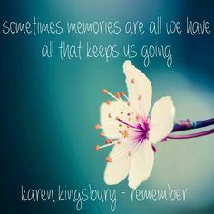 Karen Kingsbury remember Baxter family