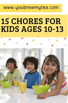 Don't miss our top list of Chores for Kids ages Have your Tweens do more around the house using this chore list for tweens! Craft Activities For Kids, Kids Crafts, Chores For Kids By Age, What Is Aging, Best Gifts For Boys, Clorox Wipes, Lucky Star, Parenting Advice, Washing Clothes