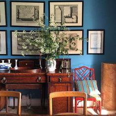 Cracking The Ben Pentreath Paint Colors Mystery Farrow Ball St Giles Blue