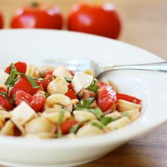 Caprese Pasta Salad | Recipes | Spoonful