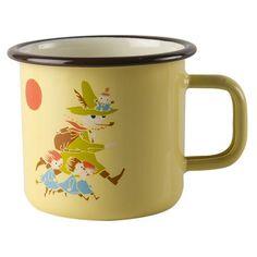 Vintage Snufkin enamel mug 3,7 dl