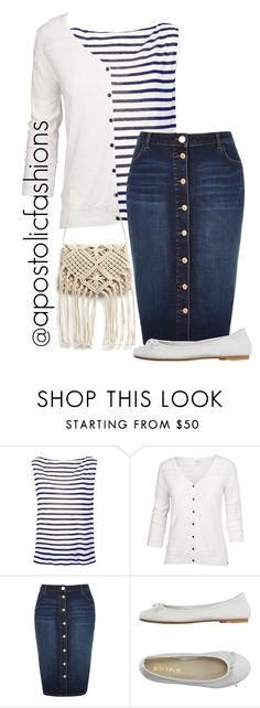 """Apostolic Fashions #1282"" by apostolicfashions on Polyvore featuring T By Alexander Wang, Fat Face, River Island and DIENNEG"