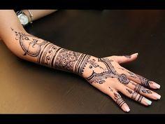 MY HENNA - Jagua Tattoo # 4 - YouTube