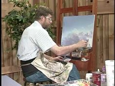 Painting clouds and thunderheads with Jerry Yarnell (29 minute episode) - YouTube