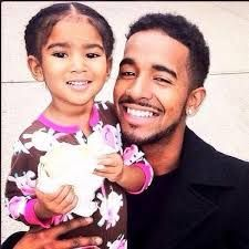 jhene aiko daughter Nami with her dad O'Ryan who is the brother of O'Marion