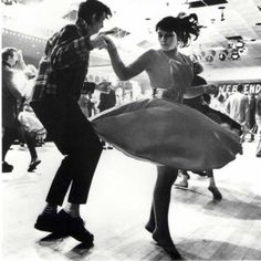 If you like old school rock and roll or vintage clothing chances are that you probably like or have at least heard of rockabilly. By definition rockabilly refers to a style of music from the 19 Lindy Hop, Dance Like This, Dance Like No One Is Watching, Tango, Style Rockabilly, Rockabilly Fashion, Rockabilly Couple, Rockabilly Shoes, Rockabilly Dresses