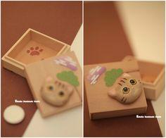 kitty/cat jewelry box,hand painted wood box,Bride Gift,Keepsake Box,friendship gift,girl friend gift,accessories box,wooden box,Trinket box #giftideas #kitten #pet #Japanstyle #homedecor #unique #handmade #birthday #cute #animals #claydoll #catdoll #woodenbox #kikuikestudio # lovergift  #Giftforher #chat #ネコ #gato #Katze #gatto #kikuikestudio