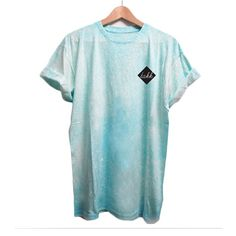 Camiseta Spray Turquesa Claro de Takk Clothing