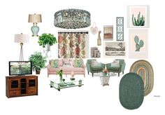 """my living room"" by kim-coffey-harlow ❤ liked on Polyvore featuring interior, interiors, interior design, home, home decor, interior decorating, Garden Trading, Pacini & Cappellini, Pottery Barn and Cultural Intrigue"