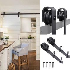 Other types of Sliding Barn Door Hardware are also available on our store! This Barn Door Hardware Set comes with all necessary hardware for hanging the door that can. - May 11 2019 at Sliding Barn Door Track, Sliding Barn Door Hardware, Sliding Doors, Entry Doors, Oak Doors, Panel Doors, Screen Doors, Door Hinges, Front Entry