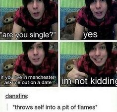 THATS WHAT DAN DID<<IM CRAFTING SOMEONE SEND THE PHANBULANCE!!!