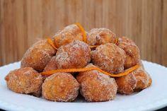 Receitas práticas de culinária: Sonhos (de laranja)