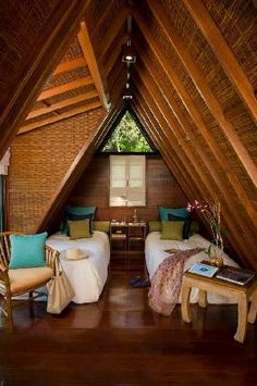 The Farm at San Benito Batangas A Frame Tent, A Frame Cabin, Philippine Architecture, Bamboo House Design, Hut House, Bahay Kubo, Bamboo Structure, Bamboo Architecture, House Goals
