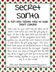 Secret Santa Rules Images & Pictures - Becuo