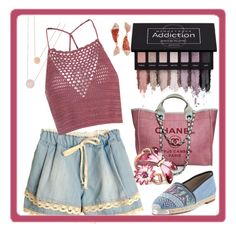 """MoodStruck"" by bren-johnson ❤ liked on Polyvore featuring Chanel, Glamorous, Giuseppe Zanotti, Gucci, Michael Kors and Betsey Johnson"