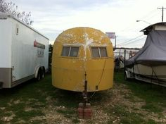 1947 Curtis Wright, for sale in Austin TX. Great Resto trailer!