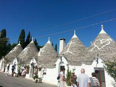 Trulli houses #Unesco #monument #Alberobello #Trulli #Puglia #Italy