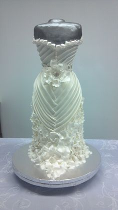 From my wedding gown class at wilton..colette peters