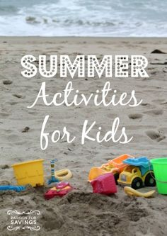 Are your kids complaining of Summer boredom yet? DIY Summer Activities for Kids  #DIY