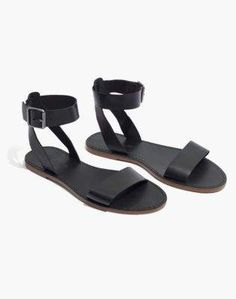 451b7e4d5dcaf Madewell The Boardwalk Ankle-Strap Sandal Ankle Strap Sandals