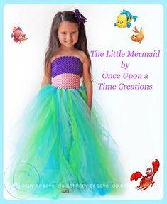 The Little Mermaid Inspired Princess Tutu