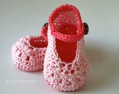 Crochet Patterns, Baby shoe pattern