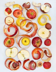 We're all about zero waste at Ancolie. That is why we take all of our could-be trash apple scraps and turn them into crispy crunchy apple chips. Fruit Photography, Food Photography Styling, Food Styling, Fruit Art, Food Waste, Fruit And Veg, Food Illustrations, Creative Food, Food Design