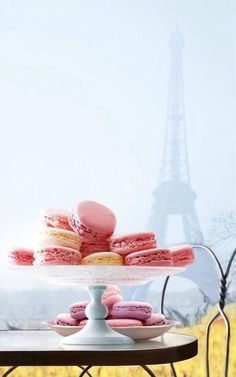 This is Paris to me...except I would want pistachio macarons!