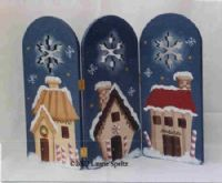 Laurie Speltz: North Pole Village Fence