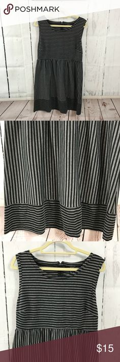 Striped XL Daisy Fuentes dress Excellent gently used condition. Bundle two or more items & save. No trades. Offers accepted through the offer button. I follow Posh etiquette and ship 4-5 days a week. Thanks for shopping my closet and boutique! Daisy Fuentes Dresses