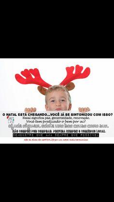 O #natal está chegando! Mas o que vc está fazendo diferente dessa vez? #desejodenatal #paz #harmonia menos #consumo #ficaadica