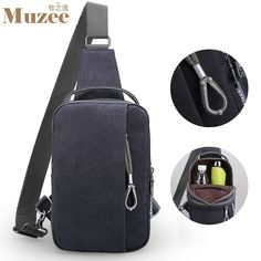 b9f63536f1b Like and Share if you want this Muzee Unisex Sling Bag Tag a friend who  would