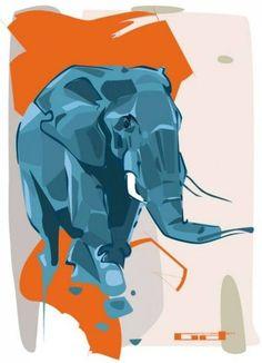 Denis-Gonchar-amazing-elephant-animal-illustration-digital-artwork-19.jpg (545×755)