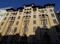 Bloc de locuințe pe strada Hristo botev