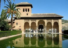PRETTY. Granada has a great diversity in its climate from a sunny Mediterranean summer to rain and snow in the winter.