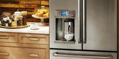 If you want a refrigerator that blends into your cabinetry, consider one of the best counter-depth refrigerators from Consumer Reports' tests. Kitchen 2016, Kitchen Reno, Kitchen And Bath, Kitchen Remodel, Kitchen Design, Kitchen Appliances, Kitchen Ideas, Best Counter Depth Refrigerator, Small Refrigerator