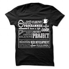 Coder/Web development/Programmer t shirt T Shirts, Hoodie. Shopping Online Now ==► https://www.sunfrog.com/LifeStyle/CoderWeb-developmentProgrammer-t-shirt-Black-48144775-Guys.html?41382