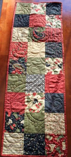 Free Table Runner Quilt Patterns